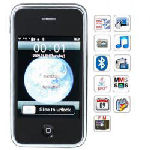 i9+++ Dual Card Quad Band Java FM Touch Screen Cell Phone